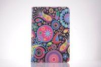 For iPad 2 3 4 Case Fashion Drawing USA UK Lady Flower Fresh Skin For Apple iPad2 iPad3 iPad4 Smart Cover Hot Sale Wholesale