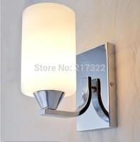 indoor lighting modern glass bedroom wall sconce wall light fixture E27 lamp holder