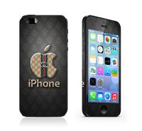 Full Skin cover for Iphone 5 5s screen protector cell mobile phones sticker light black Logo print brand kawaii film