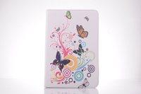 For iPad Air iPad 5 Case Fashion Drawing USA UK Lady Flower Fresh Skin For Apple iPad5 iPadair Smart Cover Hot Sale Wholesale