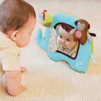 Alphabet Zoo Activity mirror baby Toy - Elephant SHD-1066