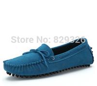 2014 Brand Designer Casual Women Genuine Leather Velvet Suede Tassel Loafers Shoes Ladies Flats Driving moccasins Slip On