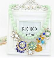 2014 Euroamerican Fashion Candy Temperament Luxury Shiny Metal Bead Necklace  MYL983