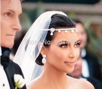Fashion Romantic Wedding Bride Accessories Hair Jewelry Headbands (B076)