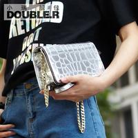 Fashion stone pattern mini bags 2014 women's handbag small plaid chain bag