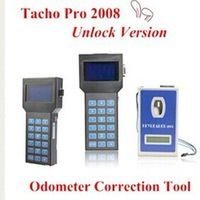 Top Quality 2014 Odometer Correction Tool Tacho Pro 2008 July Plus Universal Dash Programmer UNLOCK Version