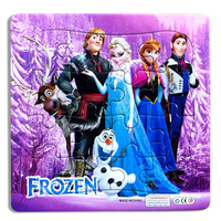 Frozen jigsaw puzzle For children Frozen stationery 10pcs KT001
