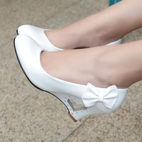 CooLcept free shipping high heel shoes women sexy dress candy colors footwear fashion pumps EUR size 34-43