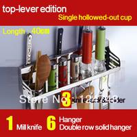 free shipping 40cm longth storage holder& rack shelf in kitchen, 304s/s spice storage racks shelf bathroom