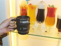 Free Shipping 1Piece 10 Ounces Into Focus Camera Lens Mug With Lip / Camera Coffee Cup