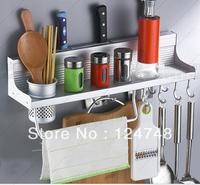 hot !free shipping with low price  Space Aluminium storage shelf 2013 new design top quality 50cm storage holder&racks kitchen