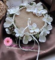 Little love nest camellia pearl nest ring pillow wedding ideas wedding gift wedding ring care Korean
