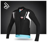 2014 New Arrival  Jakroo Men Women Winter Thermal Fleece Cycling Bicycle Professional Athletic Long Sleeve Jersey Jerseys - EVO