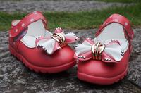 2014 child shoes brand new Korean bow ladies shoes Baotou kick princess baby shoes wholesale