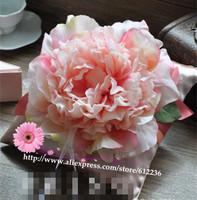 Blossoming peony champagne creative wedding ring pillow wedding ring care Korean handmade wedding gifts