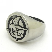New Trendy ! 316L Stainless Steel For Men Bird Arrow Ring Represents The Peace Jewelry, Best Price !!
