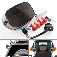 Smoke 144 LED Integrated Brake Tail Light Turn Signal For Harley Softail 96-2008