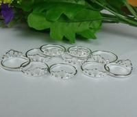 New Fashion Wholesale lots S80 Silver Crown Rings Size 7-9 10pcs/lot