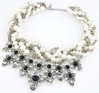 New Western Exaggerate Women Short Nacklace Lady Fashion Brand Party Jewelry MYL987