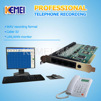 Telephone recording card COME800-TL16 support customize the message