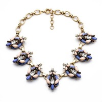 fashion necklaces for women 2014 hot selling Exaggerated flower dress accessories metal tide restoring ancient ways necklace