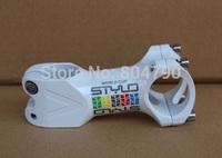 *Retail* aluminum alloy 80mm MTB mountain road bike bicycle handlebar stem 31.8mm diameter clamp white new