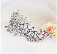 rhinestone bridal crown for wedding Bride pendant fashion crown wedding dress accessories marriage hair accessories