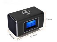 100pcs Original Nizhi tt6 Portable Mini Speaker tf MP3 Player Amplifier TF Card USB Disk Computer Speaker with FM Radio