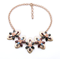 fashion necklaces for women 2014 hot selling Retro fashion personality atmosphere A variety of color