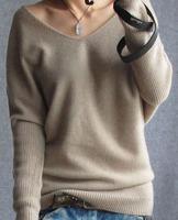 2014 Fashion Plus Size Pure Cashmere Sweater Women Pullovers Sweater 100% Cashmere Cardigan Basic Shirt Big Free Shipping AC059