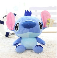 Free Shipping Lilo & Stitch Plush Stitch Soft Toys Kids stuffed Doll Blue 40cm anime toy for children holiday gifts brinquedos