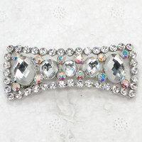 Wholesale 12piece/lot Clear Rhinestone Bridal wedding party brooches Glass gems crystal Pin Brooch  C2313
