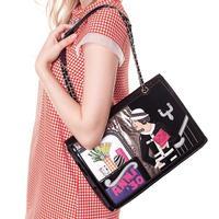 One shoulder unique women's colorant match handbag bag summer braccialini bag 2014 anna