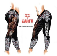 2014 Summer Women Gym Wars Yoga/Sport Pants,Sweatpants/Capris,Women Sexy Sportswear,Fitness Punk Leggings,Running Pants,Leggings