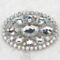 Wholesale 12piece/lot Clear Rhinestone Glass gems crystal Pin Brooch Fashion Costume jewelry C2315