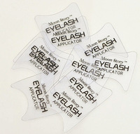 FREE SHIPPING 100pcs  eyelash applicator Bulk mascara makeup Assistant card Eyelash auxiliary card tools