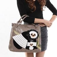 Cross-body bags color block braccialini bag 2014  vintage bag fashion portable women's one shoulder bag single