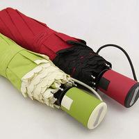 Pa for laciness plain rac hase women's brief semi automatic folding windproof umbrella anti-uv free shipping