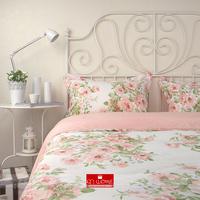 2014 Winter home textile Floral printed bedding duvet cover princess 100% cotton bedding set 4 pcs comforter cover king queen