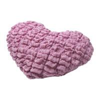 1 piece heart shape 100% polyester 12x16 inch children cushion
