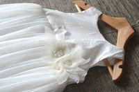 Flower Girl Dress Baby Girl Dress Birthday Party Dress Baptism Dress Long Dress