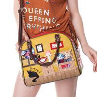 Braccialini autumn women's handbag fashion sweet casual vintage portable messenger bags small bag personality Sweet Home