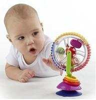 New Sassy Wind Wheel - Baby Development Toys - High Chair Toy