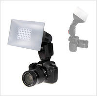 Universal 20 * 12cm / 7.9 * 4.7in Foldable Camera Softbox Flash Diffuser NG-200 for Canon Nikon SONY Speedlite