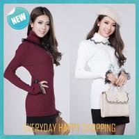 warm new turtleneck sweater,womens pullovers cardigan long sleeve,2014 winter warm Knitwear for women