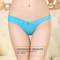 Free shipping cotton sexy women's thong underwear women G-String briefs  for women panties