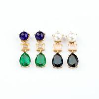 Min $10 - Pendientes Jewelry Elegant  Water Drop Pearl Drop earrings Fashion New 2014 Brincos For Women