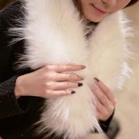 Fashion New 2014 Brand High Quality Winter Warm Faux Fur White Wool Fur Collar Shearling Colete De Pele All-Match Fur Waistcoat