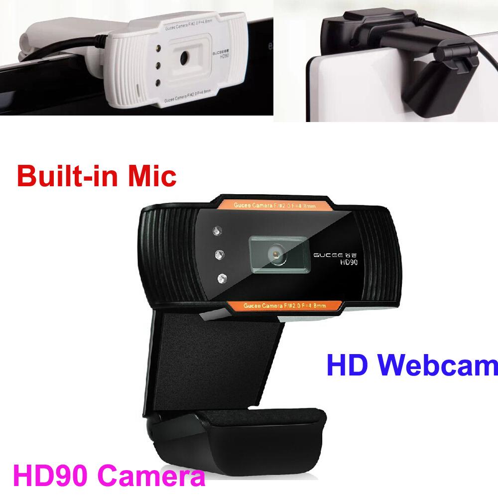 Auto Focus 1600X1200 60fps Full HD Digital USB LED Web Webcam Camera with Mic For Desktop PC Laptop PC Skype MSN Skype Computer(China (Mainland))