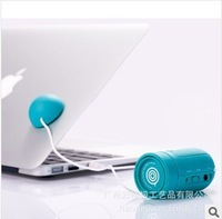2013 New Vibration Stereo Speaker System MP3 MP4 Computer Cellphone Speaker musticker portable mini speaker